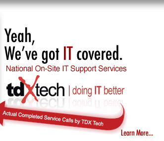 TDX Has IT Services Covered